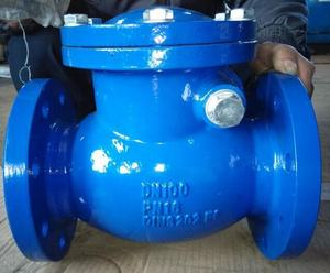 flange type cast steel swing 6 inches check valve
