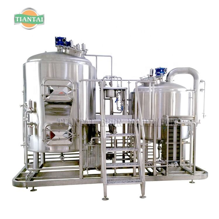7bbl/800l two vessel malt drink beer fermenting equipment for sale