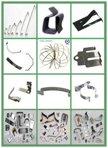 high quality hose clamps wire spring customized metal hanging clips