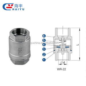 Stainless steel high temperature valves swing check valve