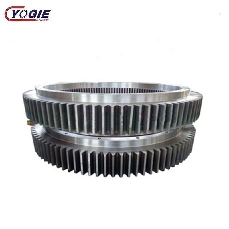 Factory Price Gear Wheel Big Module Forging Alloy Steel Spur Cylindrical Gear Wheel