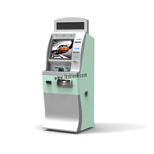 Custom Betaling Kiosk Ticket Vending Machine Touch Screen Kiosk