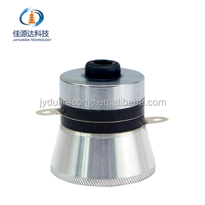 High Conversion Efficiency 60W 40KHz Ultrasonic Piezoelectric Cleaner Transducer