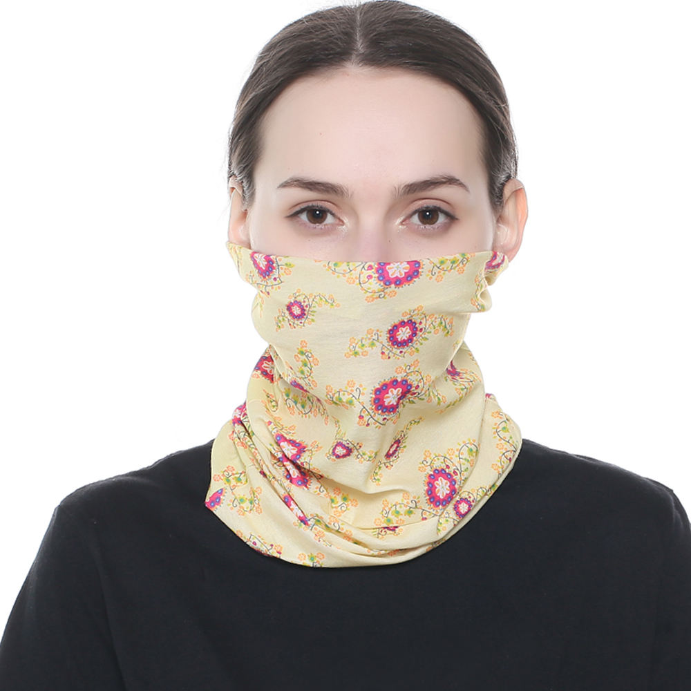 Multi Function Seamless Skull Balaklava Bandana Face headwear Warm Neck Tube Scarf Hiphop Props Sport Scarves