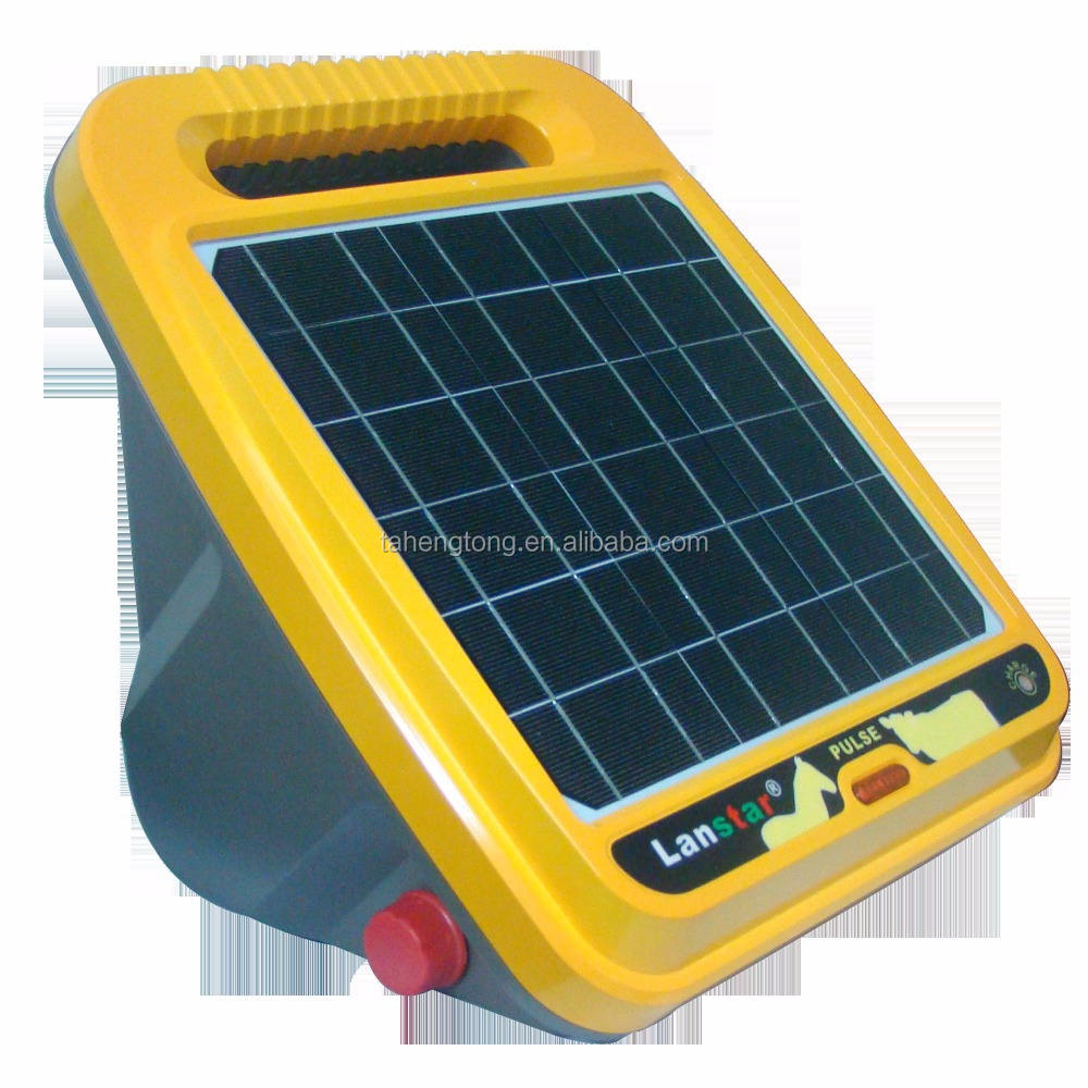 electric SOLAR fence energizer for horse cow sheep fence