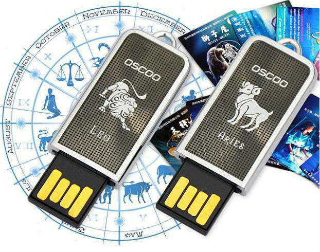 constellations USB memory,zodiac signs usb flash drive,promo usb pendrive gift
