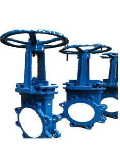 carbon steel flanged Knife Gate Valve