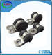 pipe clamp12mm 12.7mm 15mm 18mm 20mm 25mm bandwidth rubber lined P clip cable clamp