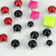 Luminous copper claw studs,colour painted spike claw studs,copper studs for leather boots