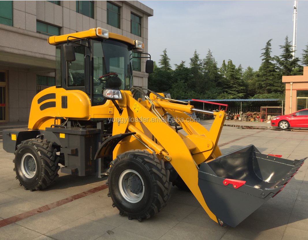 ZL 920A model construction machinery farm and garden loader machinery 1.5 ton mini wheel loader with CE certification
