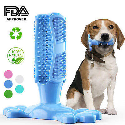 Hot search discount pet dental chew dog tooth brush toy Silicone Pet Rubber Toothbrush Chewing Toys For Dogs