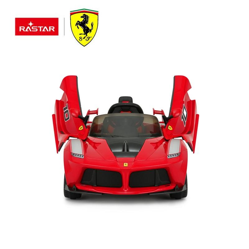 rastar baby ride on car ferrari toy cars For Kids To Drive with double motors and speed control