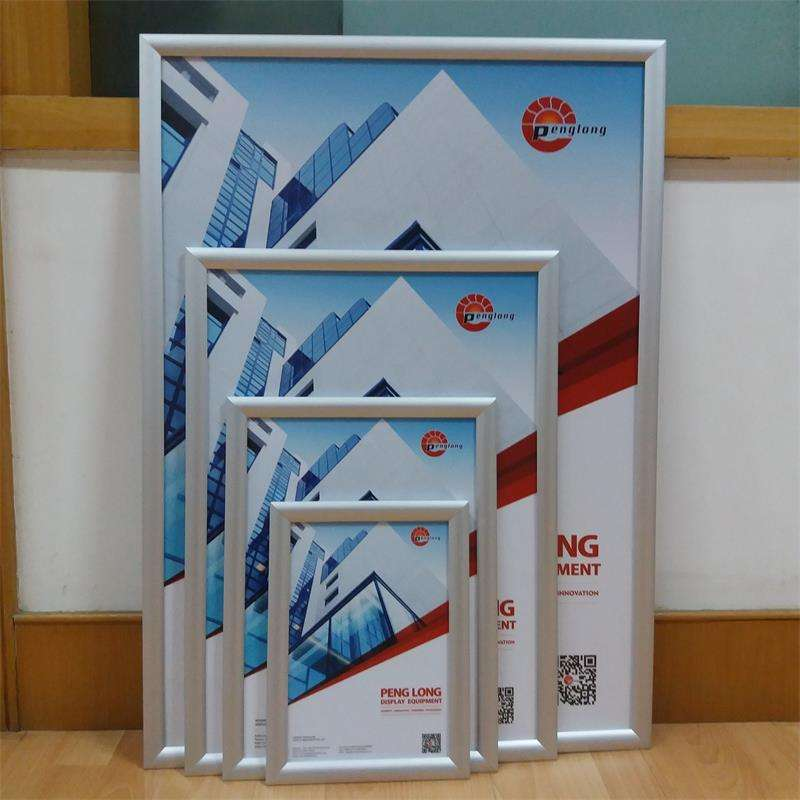Aluminum any size mitred hanging system photo picture frame