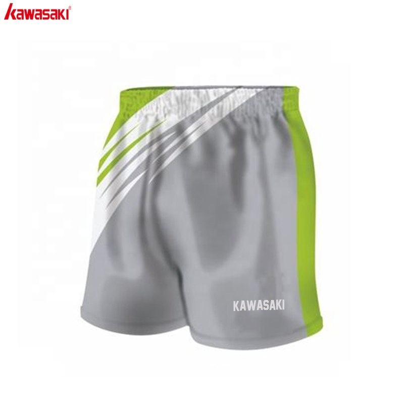 Custom polyester plain goedkope mens rugby league shorts