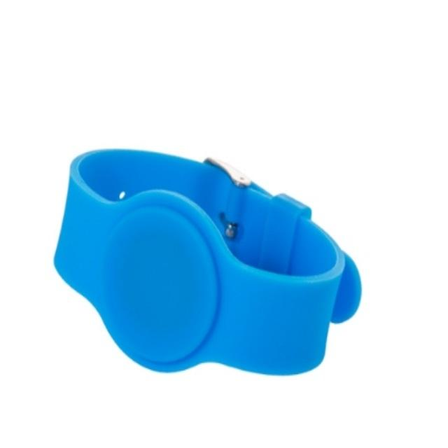 High quality custom reusable medical waterproof rfid silicone bracelet