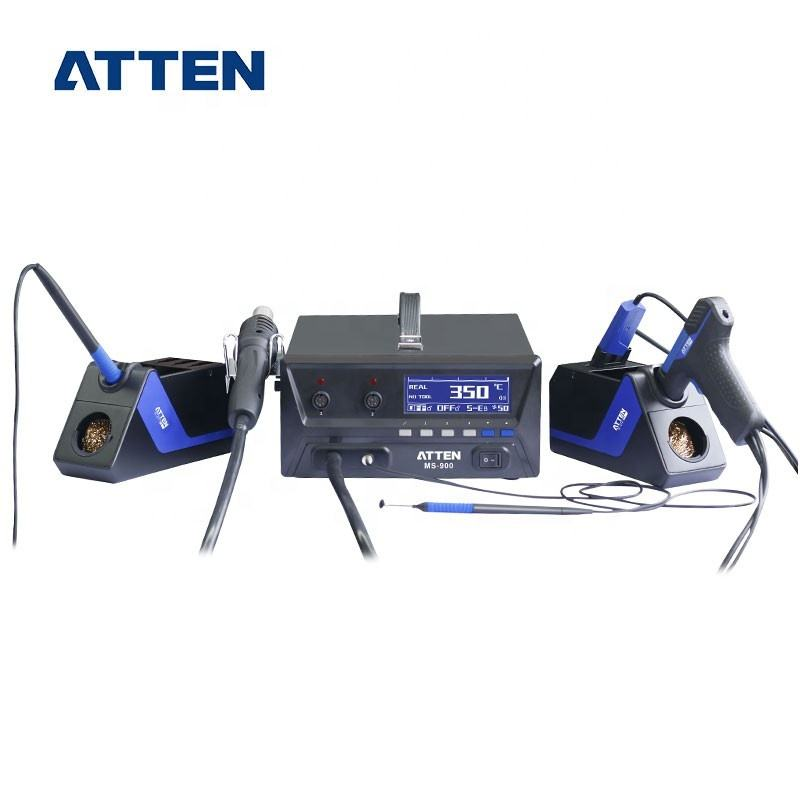 부대 MS-900 150 W 4 in 1 multi-function Hot air 역 열 건 드-soldering 핀셋 soldering 아이언 맨 (iron 역