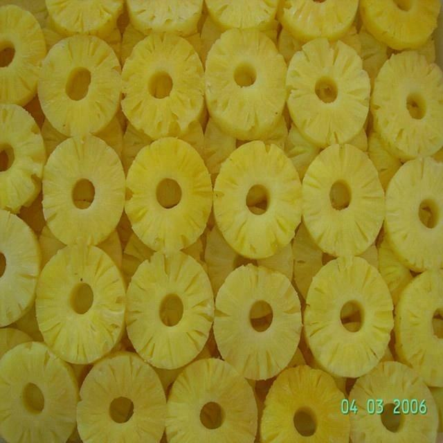 Canned Pineapple Sliced In Syrup