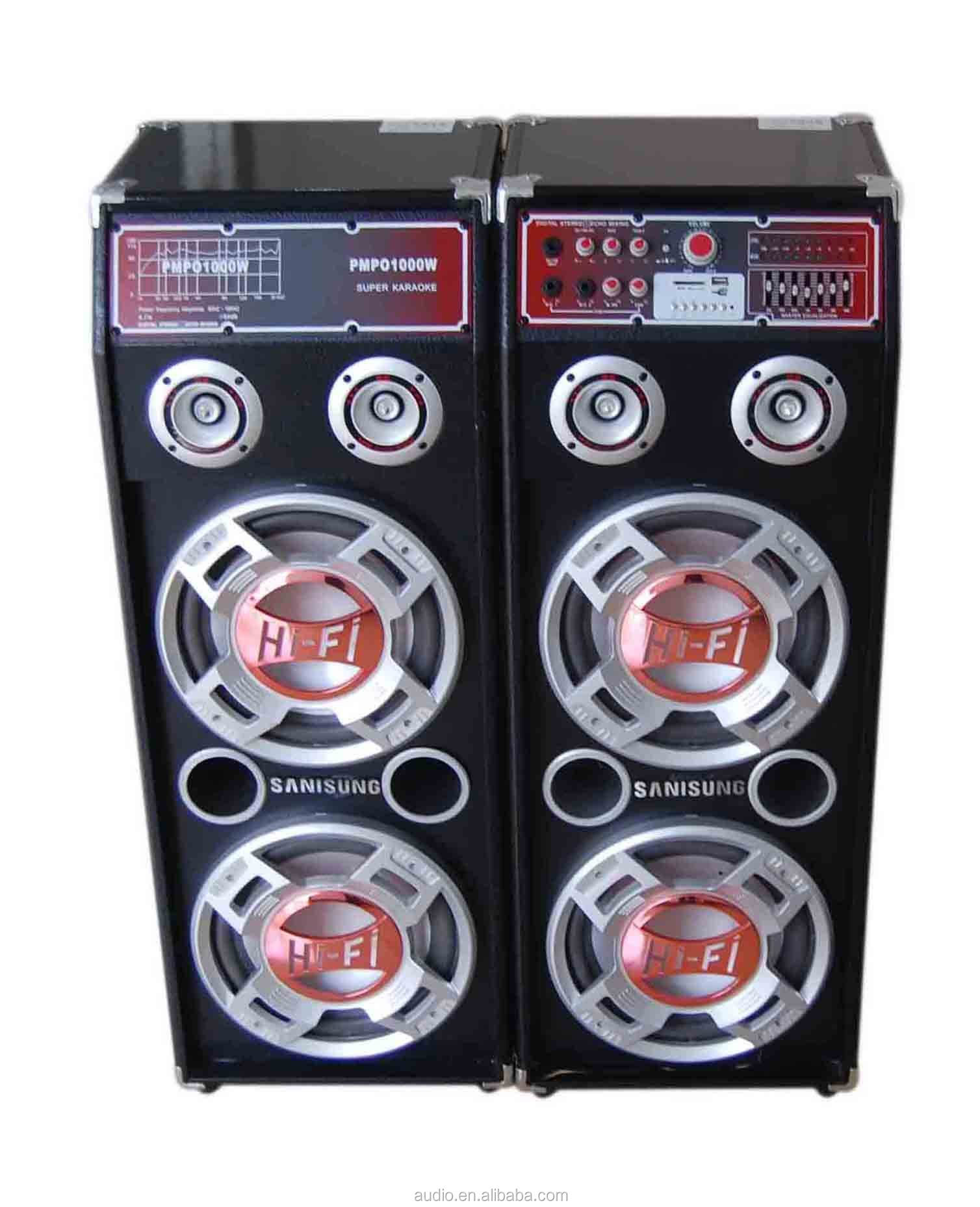 DJ system 2.0 pro outdoor stage sound speakers for sale