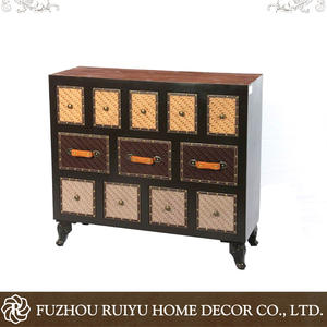 Grosir industria vintage furniture kayu/murah industri perancis vintage furniture
