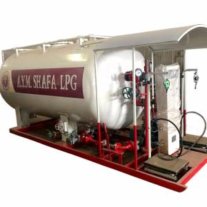 China made 20m3 30m3 total LPG cylinder filling station with lowest price