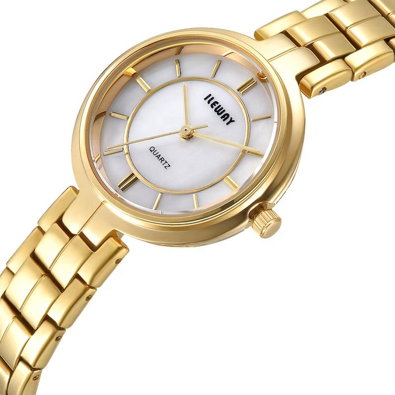 <span class=keywords><strong>Montre</strong></span> classique à <span class=keywords><strong>Quartz</strong></span> pour femmes, <span class=keywords><strong>mouvement</strong></span> japonais, coquille, cadran, or