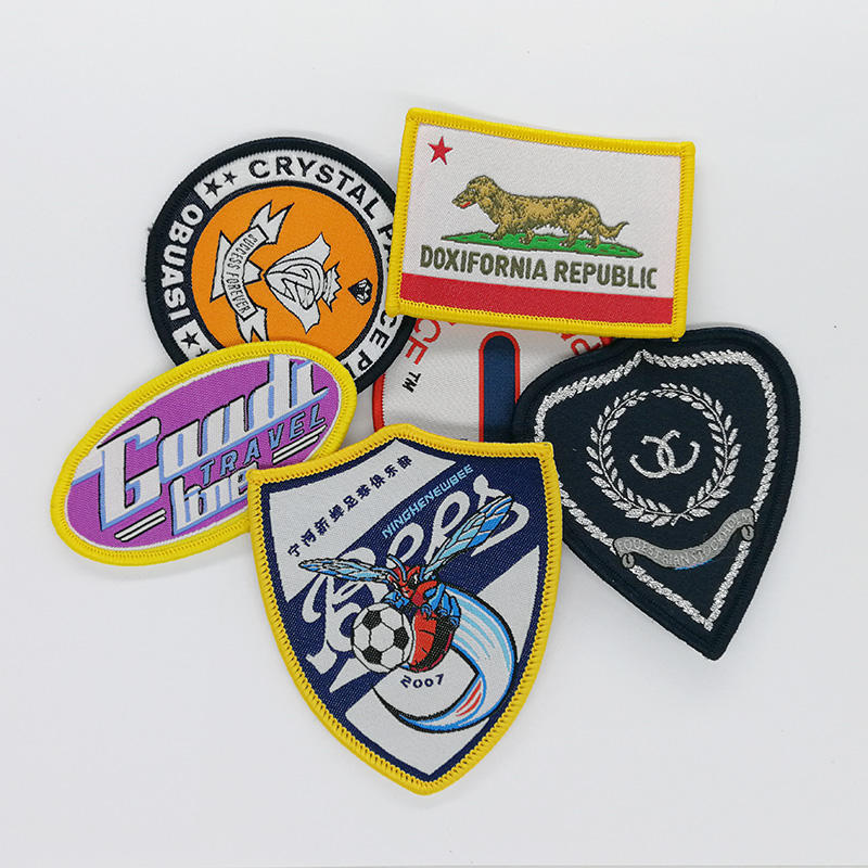 Personalized Clothing Woven Badges Patches