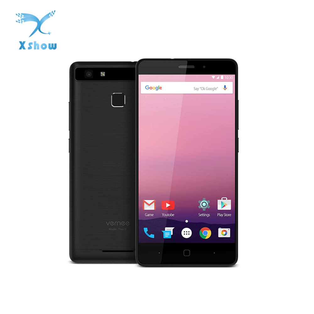 Vernee Thor E 5020 mah Batterie MTK6753 1,3 ghz Octa Core 3 gb RAM 16 gb ROM GPS Smartphone 9V2A schnell Ladung Android 7.0 Handy