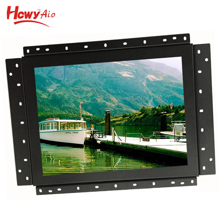 "12inch 4-Wire Resistive Touch Monitor 12 ""Open Frame LCD Touch Screen del Monitor"