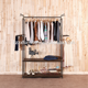 Wood retail wholesale clothing store shop fitting display racks shelves