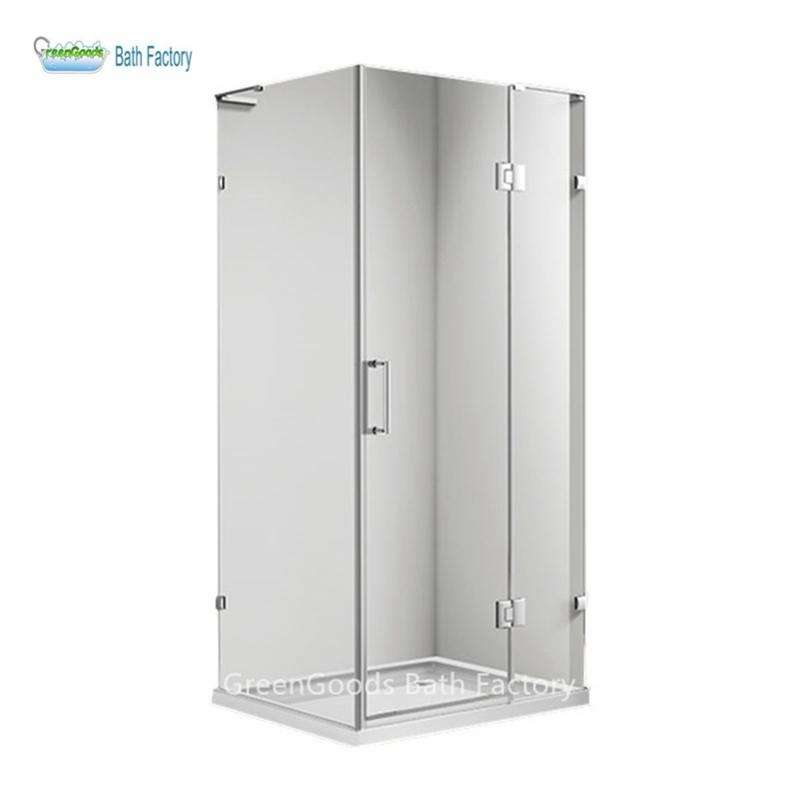 Irvin 80x80 Square Harga Tempered Glass Shower Cabin