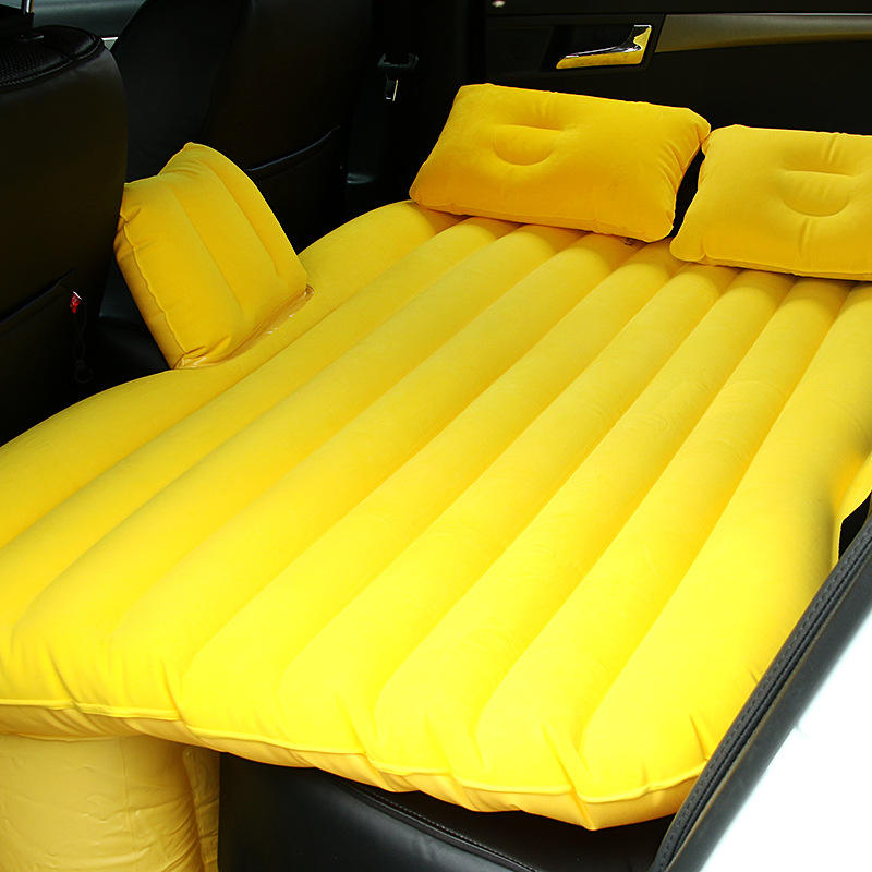 Self inflating sleeping pad camping automatic inflatable air sleeping mattress with pillow car air bed