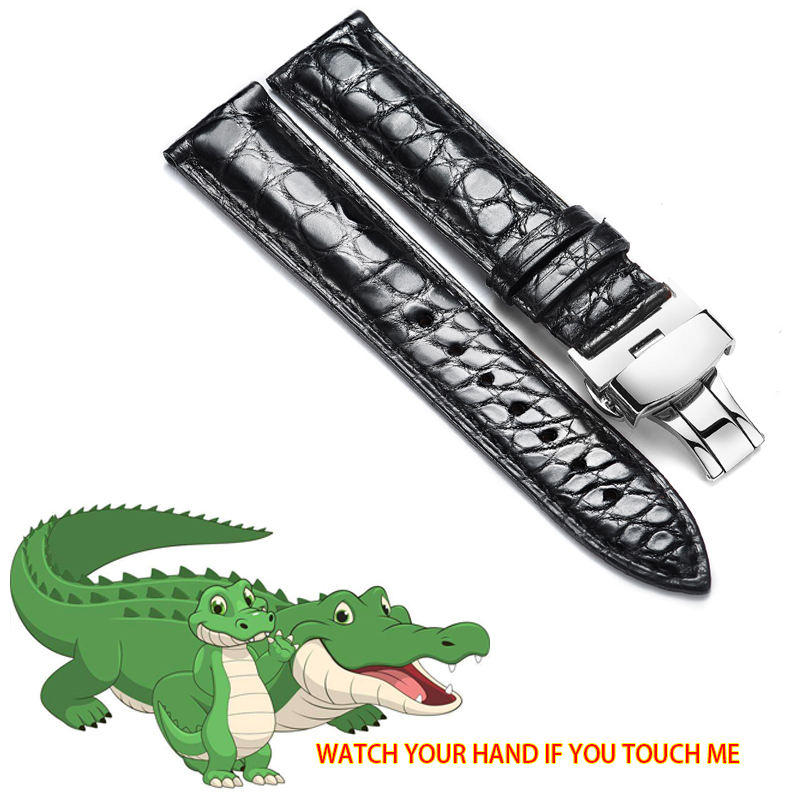 OEM Top Layer Crocodile Watch Strap