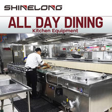 Commercial All Day Dining Restaurant Equipment Industrial Heavy Duty Kitchen Mechanical/Hotel Buffet Equipment