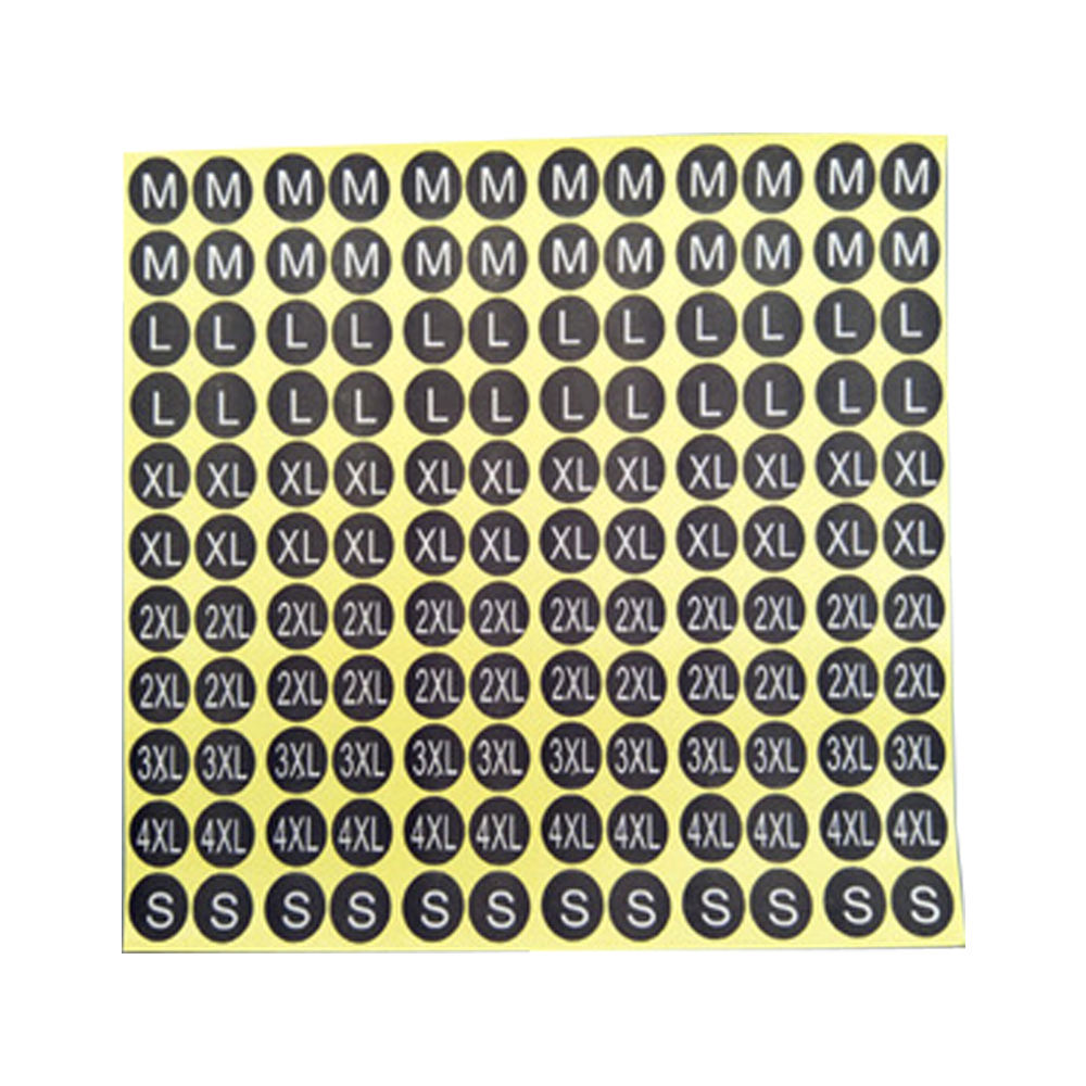 Printed Care Label Factory Supply Clothing Label Printing Garment Care Printed Size Labels Sticker For Clothing Paper