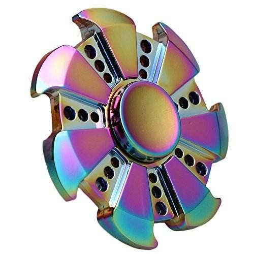 Großhandel preis hohe qualität hand spinner regenbogen zink-legierung metall zappeln finger spinner <span class=keywords><strong>spielzeug</strong></span>