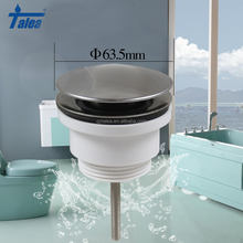 STAINLESS STEEL HIGH QUALITY WASHING BASIN STRAINER POP-UP WASHBASIN PLUG SUS304