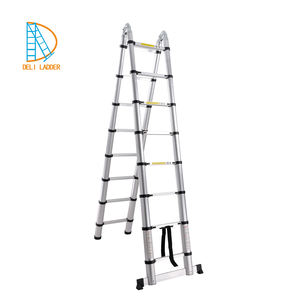 Multi-Purpose Aluminium Telescopic Ladder Extension Stepladder