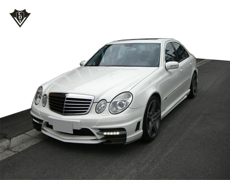 W211 body kit FRP facelift body kit for E class w211 wd style 2009-2013