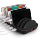 STW Factory Portable Multi Device 5 Port USB Cell Phone Charger Charging Dock Station for Smartphone