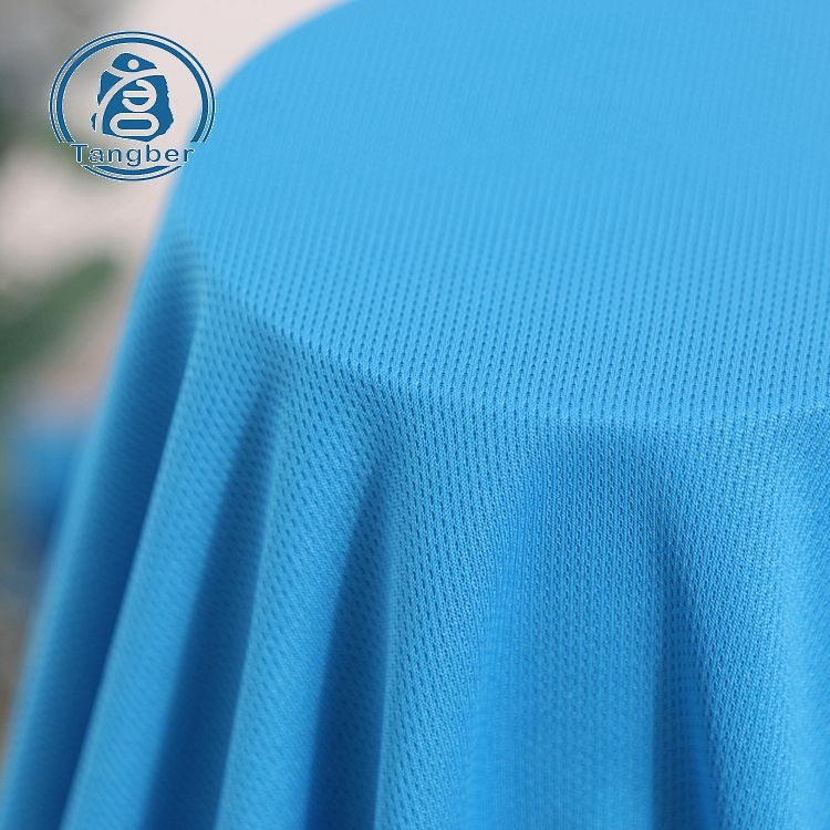 High quality micro 100% polyester sport mesh fabric for clothing stock lot