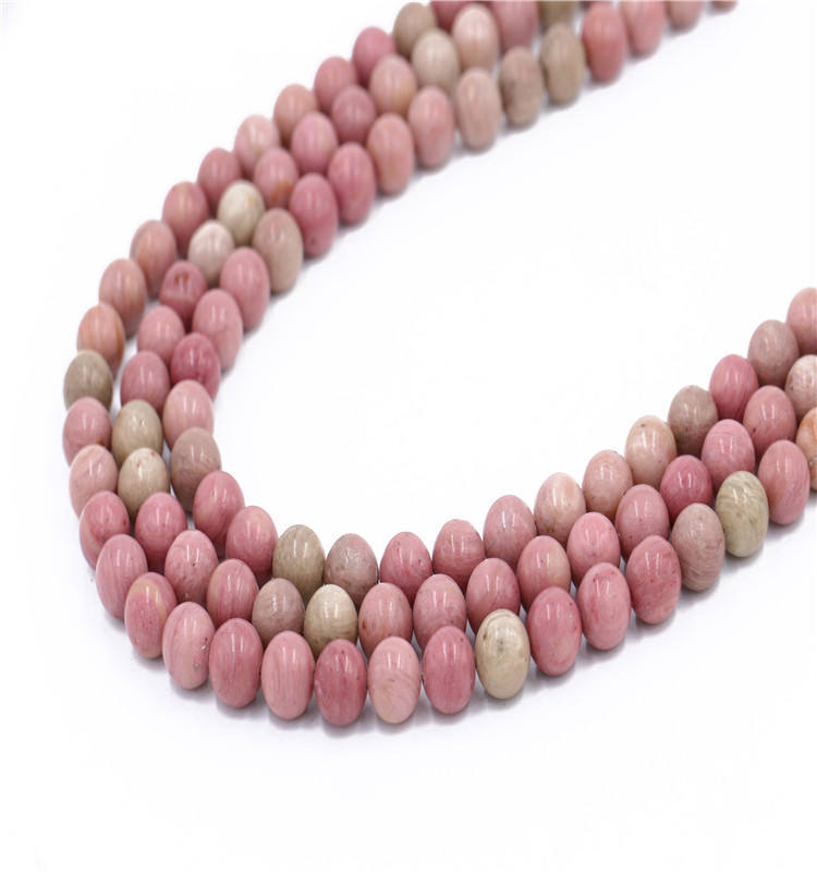 (High) 저 (Quality Wholesale 석 Bead Rose 석 가닥 Gemstone Loose Beads In Bulk