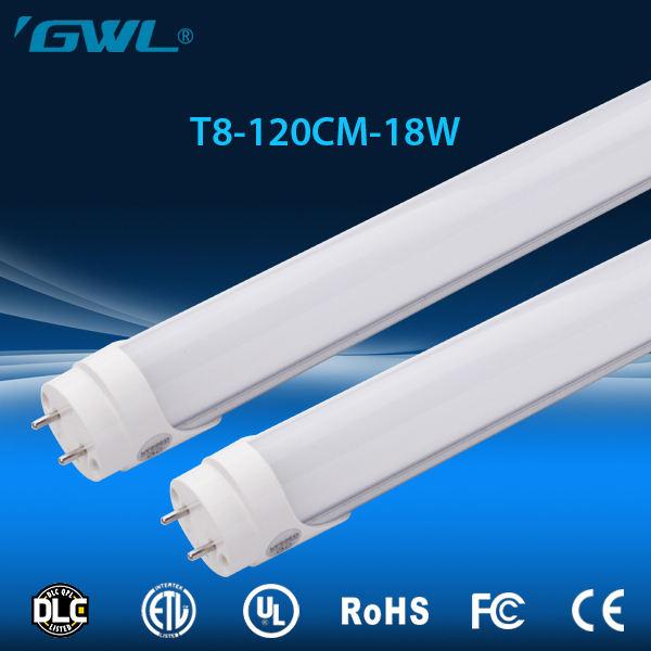 Venta caliente de alta calidad de 1200mm llevó el tubo 18 w 4 pies 180 grados t8 llevó tubo de luz