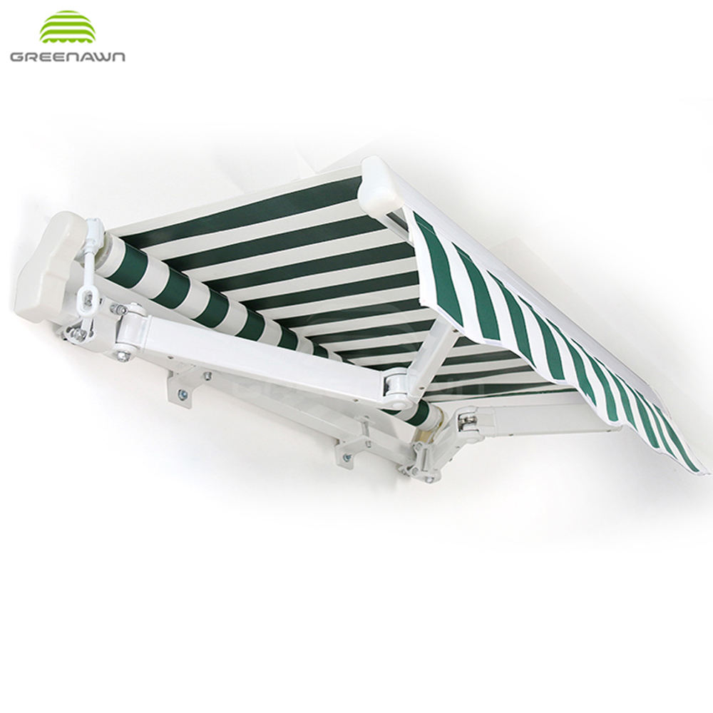 new design outdoor balcony pvc awnings waterproof aluminum balcony roof canopy awning supplier