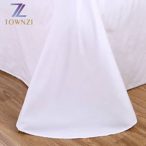 Hotel Bed Sheet Hotel Hotel Bed Sheet Sets Professional Guangzhou Manufacturer White Plain Cotton Textile Hotel Bed Sheet Sets