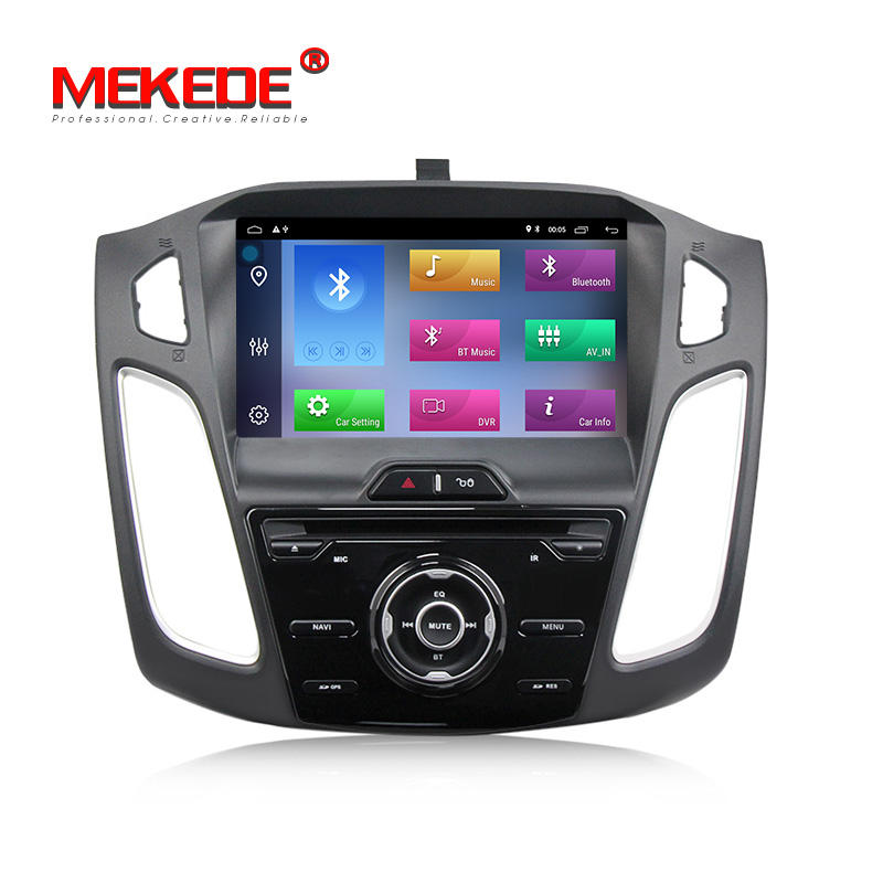 MEKEDE 9 Polegadas Android 9.1 Quad Core 2G RAM + 32G Carro DVD Player de Vídeo Do Carro de Áudio Para ford Focus 2012 C Max 2011 com wi-fi