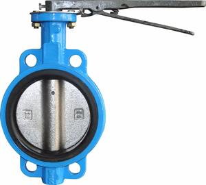 Cheap custom rubber price butterfly valve