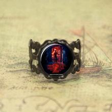 Stranger things ring stranger things will and shadow monster glass Photo Cabochon ring