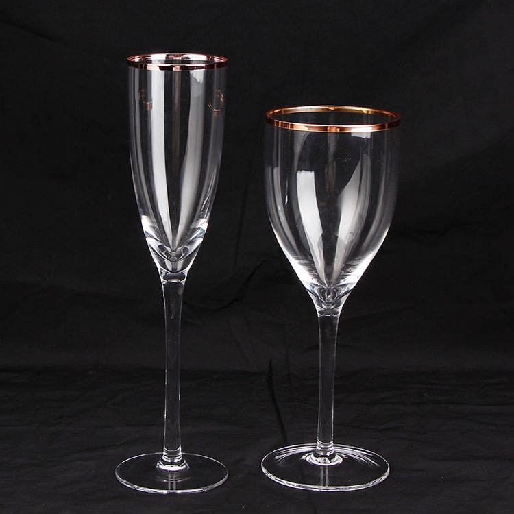 Love gifts unique wine glasses set champagne flutes couples wedding glasses