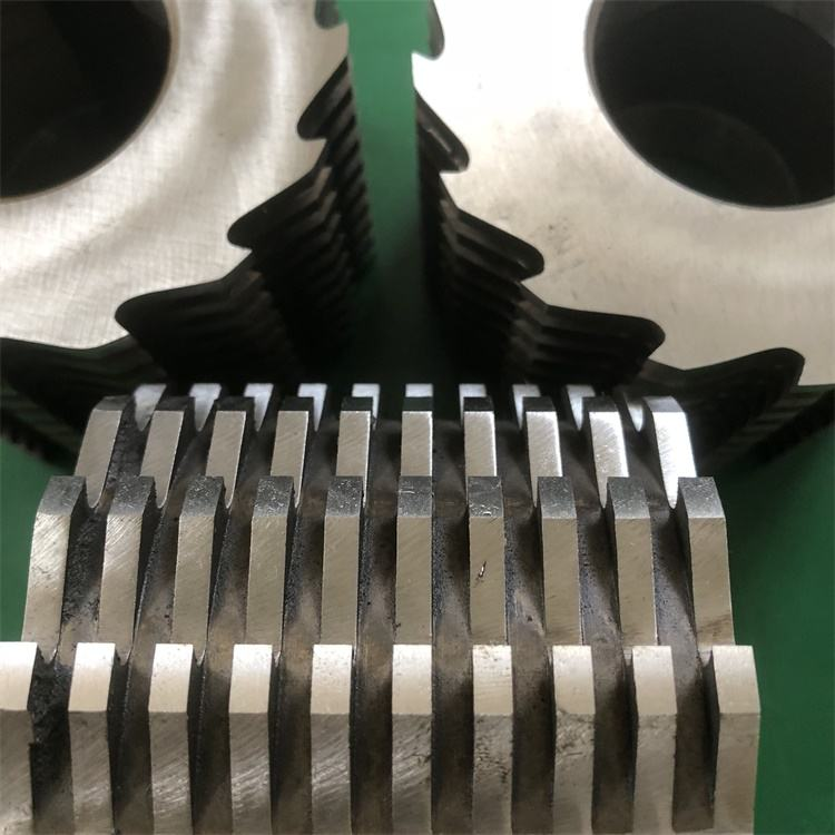 Waste Recycling Plastic Shredder Blades Crusher Knives