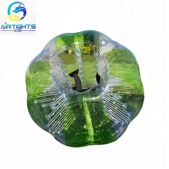 Alternate 2 Colours Bubble football good price inflatable body bumper soccer game